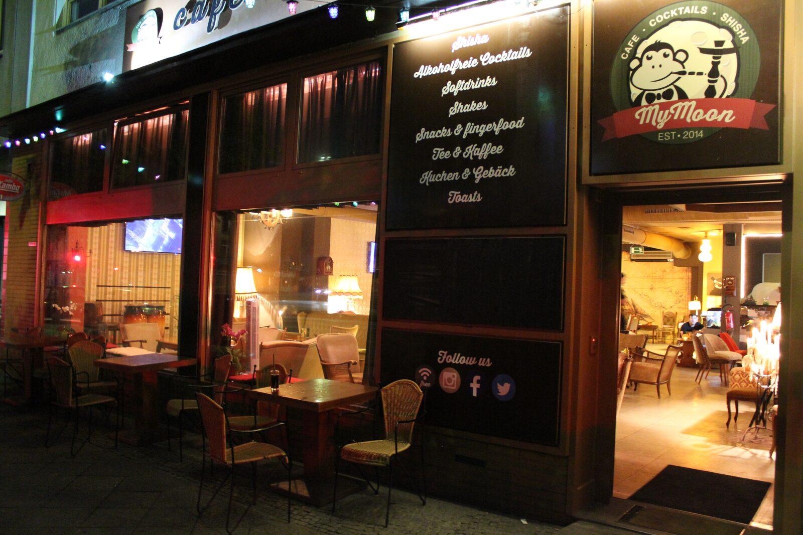 Cafe MyMoon Berlin Shisha Und Cocktails In Einer